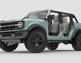 2021 Ford Bronco 4-door game ready 3D asset