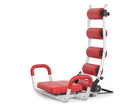 3D Gym Trainer AB Rocket Twister