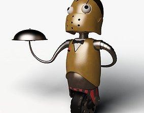 Robot Waiter 3D