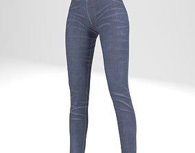 Jean pants 3D model