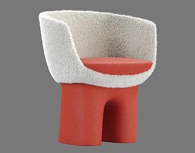Louis Vuitton Dolls Chair 3D model living-room