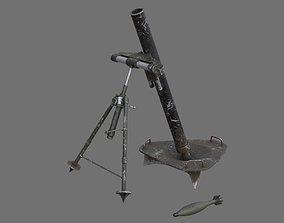 3D model Mortar 1B