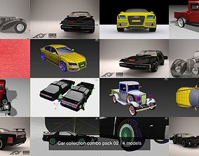 Car collection combo pack 02 3D model