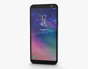 Samsung Galaxy A6 Lavender 3D model