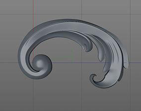 3D printable model ornament2