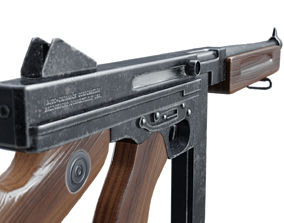 M1A1 Thompson Submachine gun 3D model VR / AR ready