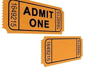 Movie Ticket 3D