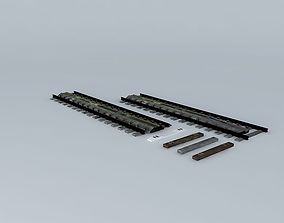 Eco WATER TROUGH With spare sleepers 3D model