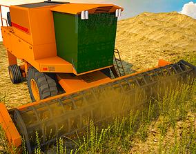 Harvester harvester 3D model