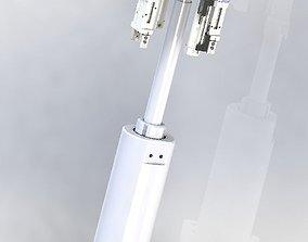 Long stroke cylinder application mechanism 3D