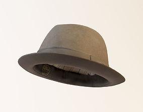 Soft Felt Hat 3D model