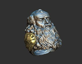 Father Time ring 3D print model