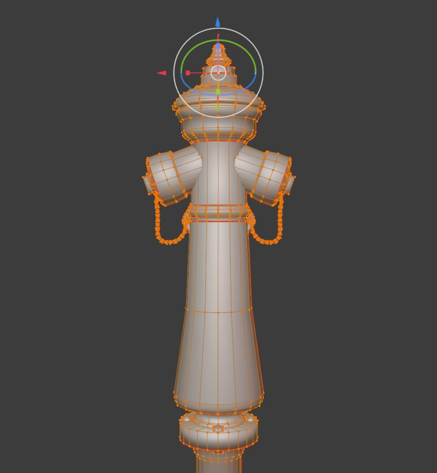 Low-Poly Fire Hydrant VAG NOVA 1885 Re-Textured in Blender-2.831