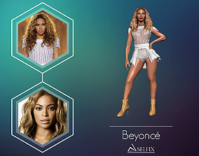 Beyonce 3D Model ready for 3d print