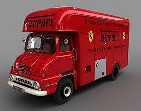 3D model Thames Trader Racing Transporter