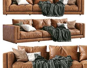 Flexform Leather Sofa LUCIEN 3D