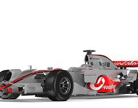 F1 Mclaren MP4-23 2008 3D f1