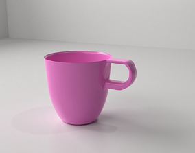 Ceramic Cup 11 3D