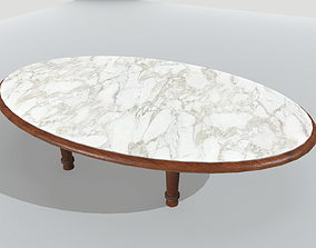 Marble Table 13 PBR 3D model