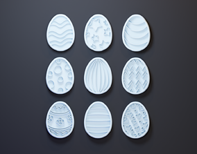 3D print model Easter egg cookie Cutters