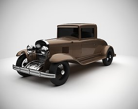 Vintage Antique Car antique 3D model