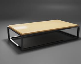 3D asset Rectangular Table