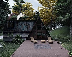 The House In The Woods 3D animated