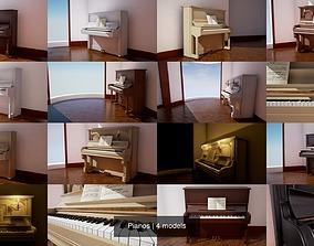 3D model Pianos