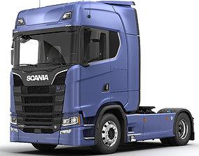 3D SCANIA S730 Semi Truck