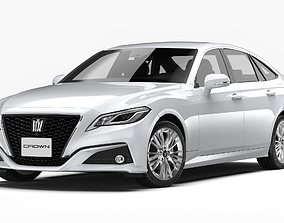 Toyota Crown 2019 3D