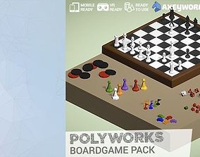 3D asset PolyWorks Boardgame Pack