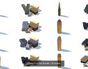 Firearms Ammo Bundle 3D model