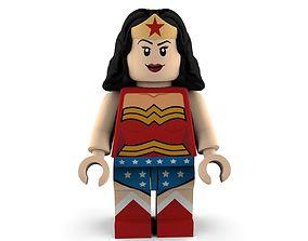 Wonder Woman Lego 3D