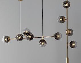 Modern Horizontal and Vertical Lighting 3D large