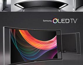 Samsung OLED Smart TV 3D model