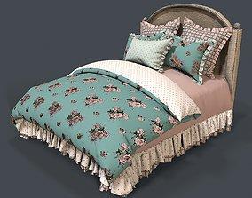 pillow Bed 1 3d model PBR