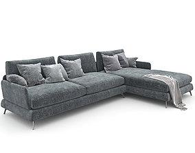 3D model 04 Sofa Ditre italia jasper 4