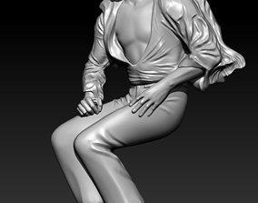 3D print model pendant Jackson
