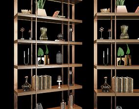 Shelf 3D model wood