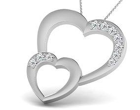 3D printable model Diamond Heart For Ladies
