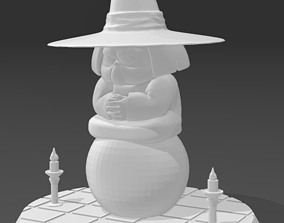 3D printable model Baba Fortuneteller - Uranai Baba