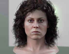 realtime 3d model Sigourney Weaver Ellen Ripley