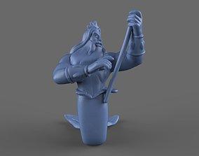 King Triton Toy model