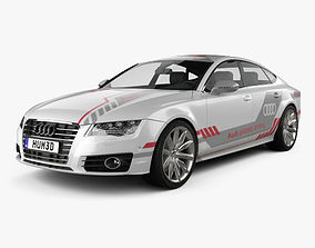 3D Audi A7 Sportback Piloted Driving Concept 2016