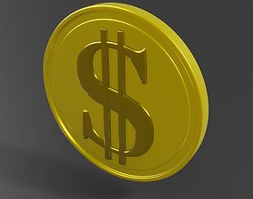 Coin 3D model
