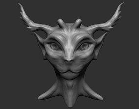 3D Fantasy Tree Creature - Sculpture