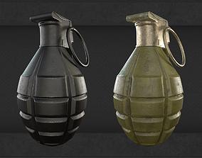 German Stick Grenade Moldel 24 4K Textures 3D | CGTrader