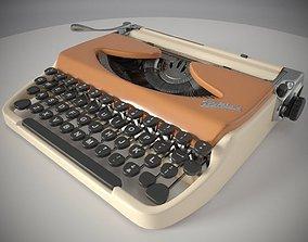 3D asset Portable typewriter Kolibri