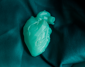 Low poly heart 3D printable model