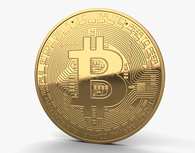 Bitcoin 3D model payment
